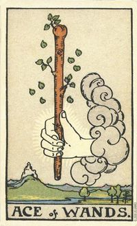 PCS Ace of Wands