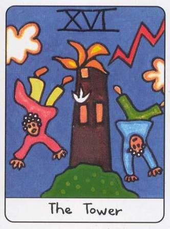 AfricanTarot_Tower
